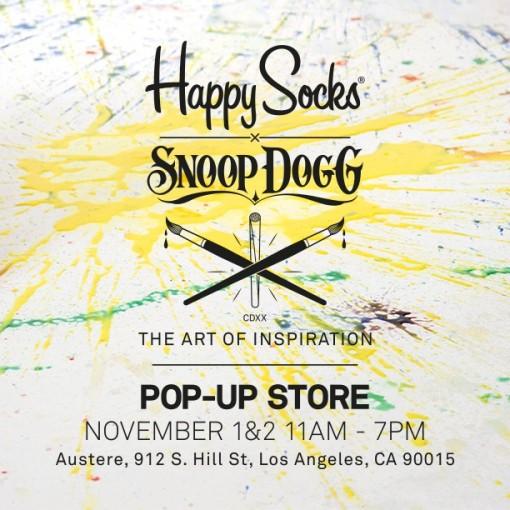 11.1 twitter HappySocksXSnoopDogg-PopUpStore-Instagram
